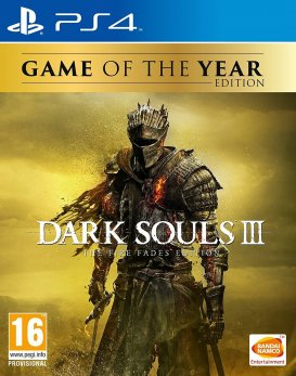 Dark Souls 3 The Fire Fades Edition Game of The Year Edition PS4